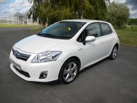 USED 2011 11 TOYOTA AURIS 1.8 T SPIRIT 5d AUTO 99 BHP Free To Tax! Alloy Wheels, Reversing Camera, Air Con, Cruise Control