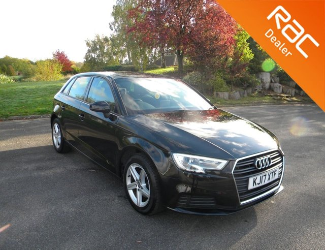 USED 2017 17 AUDI A3 1.6 TDI SE 5d 114 BHP BY APPOINTMENT ONLY - Alloy Wheels, Reversing Sensors, Bluetooth, DAB, Air Con