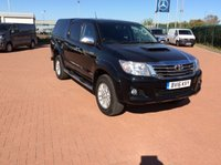 USED 2016 16 TOYOTA HI-LUX 3.0 INVINCIBLE 4X4 D-4D D/ CAB  AUTO 169 BHP (BV16KVY) WE WONT BE BEATEN ON PRICE !