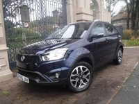 USED 2015 65 SSANGYONG KORANDO 2.2 ELX 5d 176 BHP *FINANCE ARRANGED*PART EXCHANGE WELCOME*4X4*FULL LEATHER*CRUISE*NAV*AC*BLUETOOTH*SERVICE HISTORY*