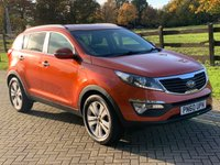 2010 KIA SPORTAGE 2.0 CRDI FIRST EDITION 5d 134 BHP £4995.00