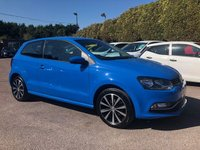 USED 2014 64 VOLKSWAGEN POLO 1.2 TSI SE 3d WITH SERVICE HISTORY  NO DEPOSIT  FINANCE ARRANGED, APPLY HERE NOW