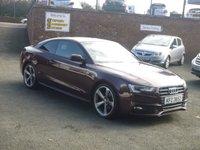 2012 AUDI A5 2.0 TDI BLACK EDITION 2d 177 BHP £11950.00