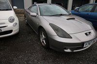 USED 2001 TOYOTA CELICA 1.8 TS VVTL-I 3d 189 BHP *PX CLEARANCE - NOT INSPECTED - NO WARRANTY - NOT AVAILABLE ON FINANCE - NO PX TAKEN*