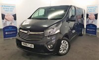 USED 2016 66 VAUXHALL VIVARO 1.6 SPORTIVE BITURBO 145 BHP LONG WHEEL BASE in Black with Low Mileage (36,001) and VERY HIGH SPEC Including Factory SAT NAV, Air Conditioning, Heated Seat, Reversing Camera, Cruise Control, Full Service History (3 Stamps), Bluetooth, DAB Radio, Alloy Wheels and so much more! ** Drive Away Today** Over The Phone Low Rate Finance Available, Just Call us on 01709 866668 **