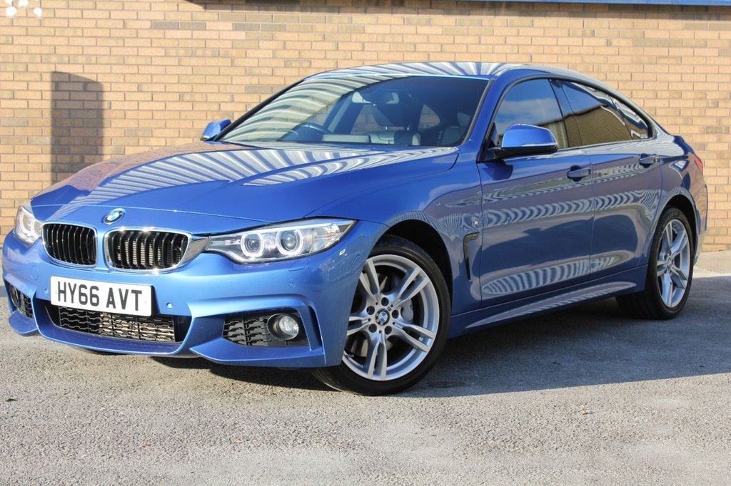 USED 2016 66 BMW 4 SERIES 3.0 435D XDRIVE M SPORT GRAN COUPE 4d AUTO 309 BHP FINANCE AVAILABLE - PCP/HP PLEASE ENQUIRE WITHIN.