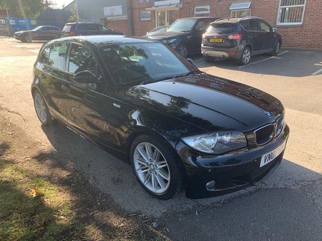 USED 2007 07 BMW 1 SERIES 2.0 118I M SPORT 5d AUTO 141 BHP