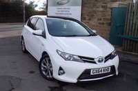 USED 2014 64 TOYOTA AURIS 1.8 EXCEL VVT-I 5d AUTO 99 BHP Full Service History One Owner