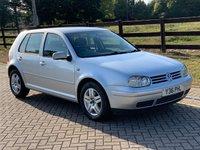 2001 VOLKSWAGEN GOLF 1.9 GT TDI 5d 114 BHP £995.00