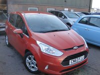 USED 2013 63 FORD B-MAX 1.6 ZETEC 5d AUTO 104 BHP ANY PART EXCHANGE WELCOME, COUNTRY WIDE DELIVERY ARRANGED, HUGE SPEC