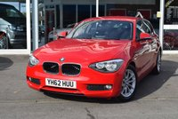 USED 2012 62 BMW 1 SERIES 1.6 116D EFFICIENTDYNAMICS 5d 114 BHP FINANCE TODAY WITH NO DEPOSIT