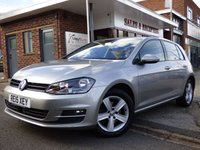 USED 2015 15 VOLKSWAGEN GOLF 1.4 MATCH TSI BLUEMOTION TECHNOLOGY 5d 120 BHP FULL SERVICE HISTORY WITH FACTORY OPTIONS