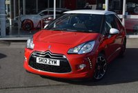 USED 2012 12 CITROEN DS3 1.6 E-HDI DSTYLE PLUS 3d 90 BHP FINANCE TODAY WITH NO DEPOSIT
