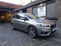 2016 BMW 2 SERIES 1.5 218I SPORT GRAN TOURER 5d AUTO 134 BHP £14795.00