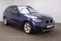 USED 2013 13 BMW X1 2.0 SDRIVE20D SE 5DR 1 OWNER 181 BHP FULL SERVICE HISTORY + PARKING SENSOR + BLUETOOTH + CLIMATE CONTROL + MULTI FUNCTION WHEEL + DAB RADIO + ELECTRIC WINDOWS + RADIO/CD/AUX/USB + ELECTRIC MIRRORS + 17 INCH ALLOY WHEELS
