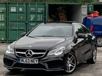 USED 2013 63 MERCEDES-BENZ E CLASS 2.1 E250 CDI AMG Sport 7G-Tronic Plus 2dr AMGPack/SunRoof/ParkAssist/DAB