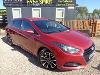 USED 2016 66 HYUNDAI I40 1.7 CRDi Blue Drive SE Nav Tourer DCT (s/s) 5dr Rear Cam, Heated Seats, Phone