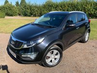 USED 2013 13 KIA SPORTAGE KIA Sportage 1.7 CRDI 2 2WD 114 BHP Full KIA History MINT Example  Full KIA Main Dealer Service History, MOT 09/20, Recently Serviced, Extremely Straight +Clean And Tidy Example, Opening Panoramic Sunroof With Electric Sunblind, Bluetooth Handsfree, X2 Keys, Unmarked Alloys, X4 Elec Windows, Power Folding Mirrors, 1/2 Leather History, Stop Start, Downhill Accent Control, Cruise Control, Climate AC, Cheap Tax, Very Economical, Drives And Looks Absolutely Spot On, You Will Not Be Dissapointed!!