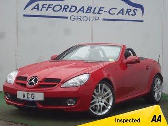 2009 MERCEDES SLK 1.8 SLK200 KOMPRESSOR 2d AUTO 184 BHP £8000.00