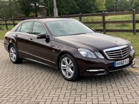 2010 MERCEDES-BENZ E CLASS 2.1 E250 CDI BLUEEFFICIENCY AVANTGARDE 4d AUTO 204 BHP £6495.00