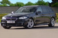 USED 2016 16 BMW 5 SERIES 3.0 535D M SPORT TOURING 5d AUTO 309 BHP FULL BMW MAIN DEALER SERVICE HISTORY