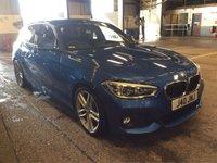 USED 2016 16 BMW 1 SERIES 1.5 116D M SPORT 5d AUTO 114 BHP High Spec FBMWSH