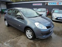 USED 2006 06 RENAULT CLIO 1.1 EXTREME 16V 3d 75 BHP