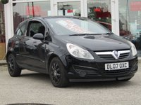 USED 2007 07 VAUXHALL CORSA 1.4 CLUB 3d 90 BHP PART EXCHANGE TO CLEAR. CLEARANCE TERMS AND CONDITIONS APPLY, may require some cosmetic (see pictures) and mechanical attention, please ring for details. HPI Checked and CLEAR. Please note that we do NOT accept Finance Applications, Credit Cards or Part Exchanges as part or whole payment on this car. If you wish to finance a car with us please go to our website where you will find a wide selection and similar cars that you can use our finance against.