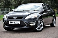 USED 2012 62 FORD MONDEO 2.0 TDCi Titanium X 5dr LEATHER+NAVIGATION