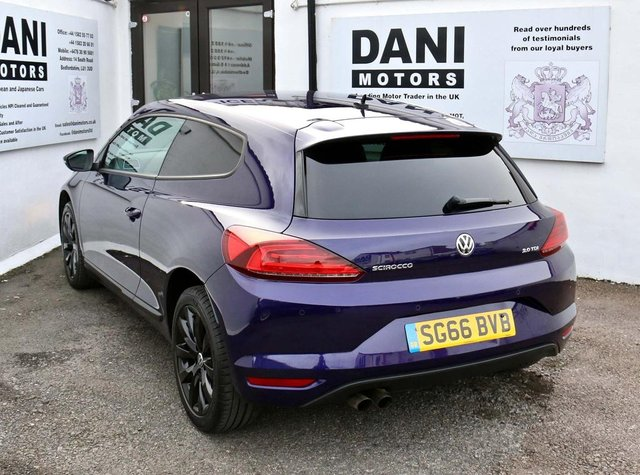 VOLKSWAGEN SCIROCCO at Dani Motors