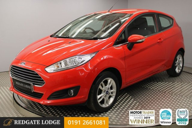 USED 2016 FORD FIESTA 1.25 82 Zetec 3dr