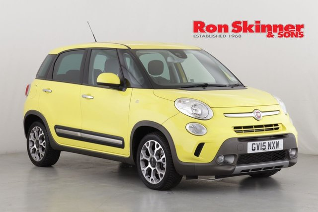 View our 2015 15 FIAT 500L 1.4 TREKKING 5d 95 BHP