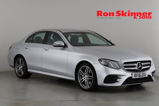 View our 2016 16 MERCEDES-BENZ E-CLASS 2.0 E 220 D AMG LINE 4d AUTO 192 BHP