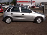 USED 2005 55 VAUXHALL CORSA 1.2 LIFE 16V TWINPORT 5d 80 BHP * 45000 MILES, HISTORY * ONLY 45000 MILES, SERVICE HISTORY, LOW INSURANCE,ECONOMICAL, IDEAL 1st CAR