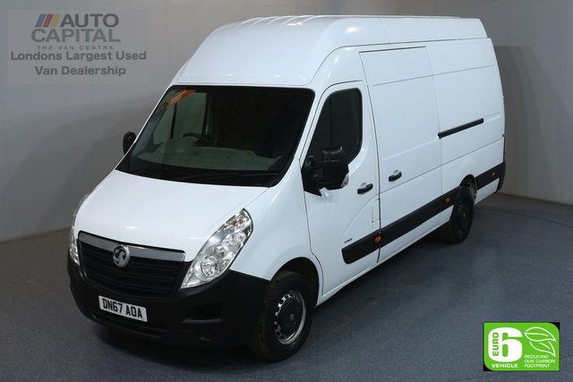 2017 67 VAUXHALL MOVANO 2.3 R3500 RWD L3 H3 123 BHP EURO 6 ENGINE ONE OWNER, SERVICE HISTORY