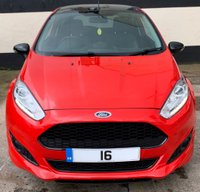 USED 2016 16 FORD FIESTA ZETEC S RED 1.0 ECOBOOST NAVIGATION 3DR 140 BHP, LOW RUNNING COSTS SAT NAV, ONLY £20 ROAD TAX & EXCELLENT FUEL ECONOMY