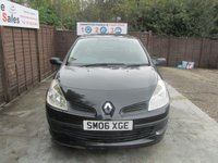 USED 2006 06 RENAULT CLIO 1.1 EXTREME 16V 3d 75 BHP FINANCE AVAILABLE FROM £17 PER WEEK OVER TWO YEARS - SEE FINANCE LINK FOR DETAILS