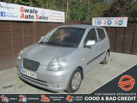USED 2007 57 KIA PICANTO 1.1 LS 5d 65 BHP FINANCE AVAILABLE FROM £21 PER WEEK OVER TWO YEARS - SEE FINANCE LINK FOR DETAILS