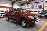 USED 2013 13 FORD RANGER 2.2 LIMITED 4X4 DCB TDCI 4d 148 BHP