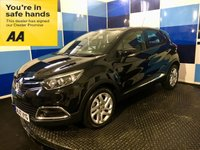 "USED 2017 17 RENAULT CAPTUR 1.5 DYNAMIQUE NAV DCI 5d AUTO 90 BHP A stuning example of this very highly desirable dieslel automatic finished in unmarked black paintwork contrasted with 17"" multispoke alloy wheels this car comes with touch screen satelite navigation,dab cd radio with media,usb/aux inputs,keyless entry and push button start,speed limiter and cruise control,onboard computer,auto lights and wipers,air conditioning,bluetooth phone conectivity,start stop,tpms plus all the usual refinements,returning a very impressive combined ecconomy of 74.3mpg ."