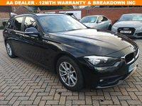 USED 2015 65 BMW 3 SERIES 2.0 320D ED PLUS TOURING 5d 161 BHP FSH+1 OWNER+CRUISE+SAT NAV+B/T