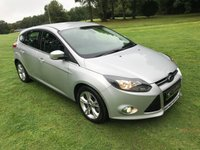 USED 2013 62 FORD FOCUS 1.6 ZETEC ECONETIC TDCI 5d 104 BHP **FINANCE PACKAGES AVAILABLE**1 OWNER FROM NEW**FREE ROAD TAX**