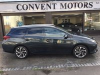 2015 TOYOTA AURIS 1.2 VVT-I DESIGN TOURING SPORTS 5d 114 BHP £9350.00
