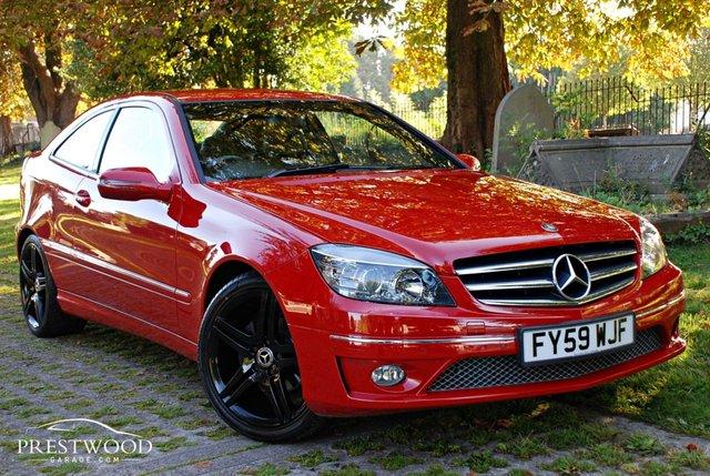 2009 59 MERCEDES-BENZ CLC CLASS CLC 200 CDI SPORT AUTO [122 BHP] 3 DOOR COUPE