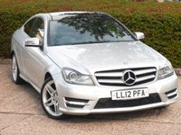 2012 MERCEDES-BENZ C CLASS 1.8 C250 BLUEEFFICIENCY AMG SPORT 2d AUTO 202 BHP £10995.00