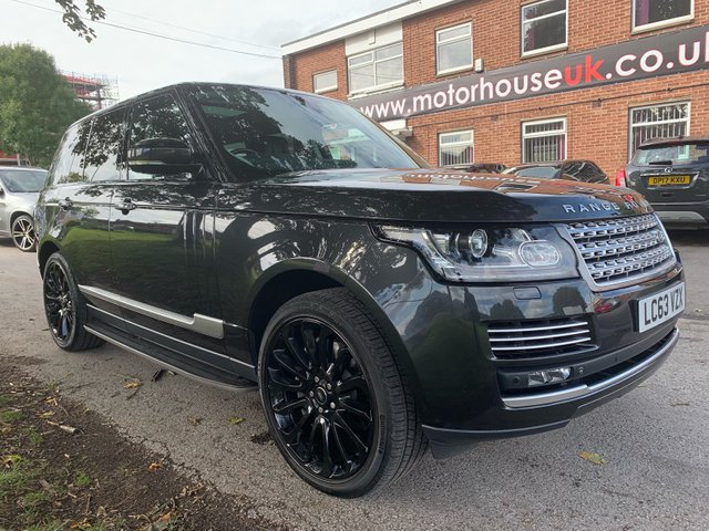 USED 2014 63 LAND ROVER RANGE ROVER 5.0 V8 AUTOBIOGRAPHY 5d AUTO 510 BHP SUPERCHARGER