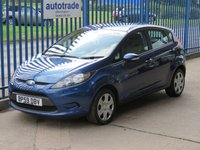 USED 2009 59 FORD FIESTA 1.2 STYLE 5dr PAS Electric windows Low Mileage & Great Economy
