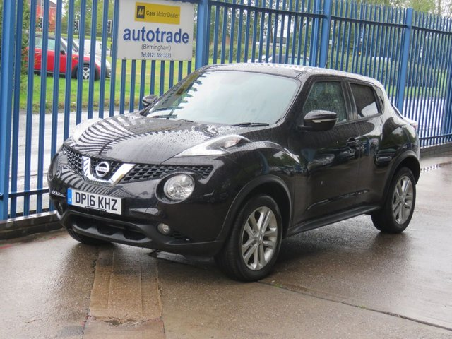 USED 2016 16 NISSAN JUKE 1.5 ACENTA DCI 5dr Pan roof Cruise Privacy Alloys Finance arranged Part exchange available Open 7 days