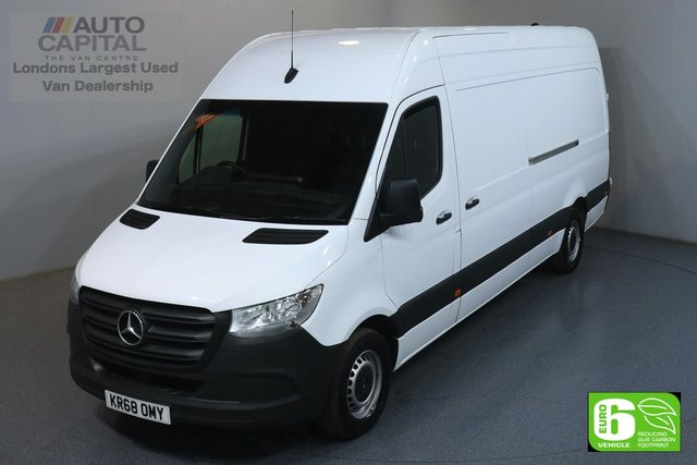 2018 68 MERCEDES-BENZ SPRINTER 2.1 314 CDI 141 BHP LWB EURO 6 ENGINE REVERSE CAMERA, FRONT- REAR PARKING SENSORS