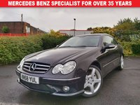 USED 2008 58 MERCEDES-BENZ CLK 2.1 CLK220 CDI SPORT 2d AUTO 148 BHP AMG SPORT COUPE - HEATED SEATS